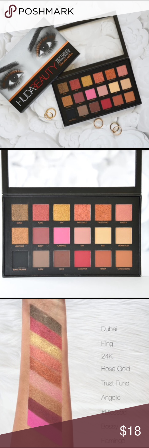 Textured Eyeshadow palette 18 colors Textured Eyeshadow palette 18 colors Makeup