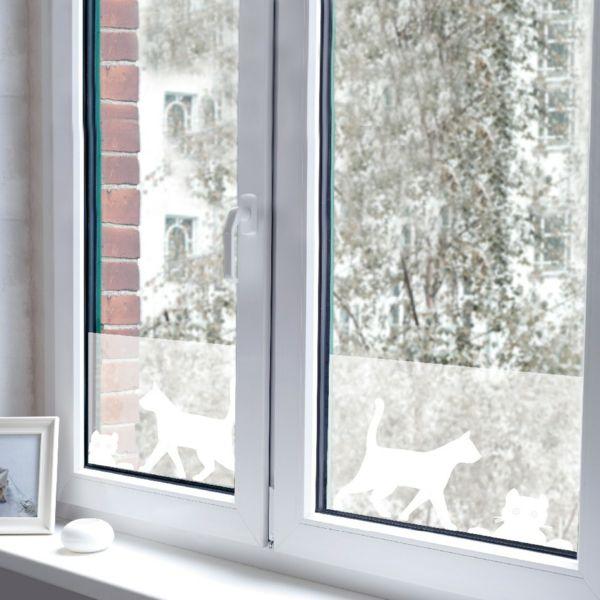 fenster-folie- einfach - Sichtschutzfolie für Fenster u2013 23 - folie für badezimmerfenster