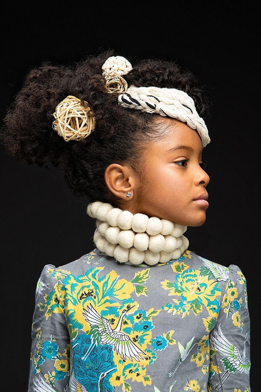 Portrait of black girl #7