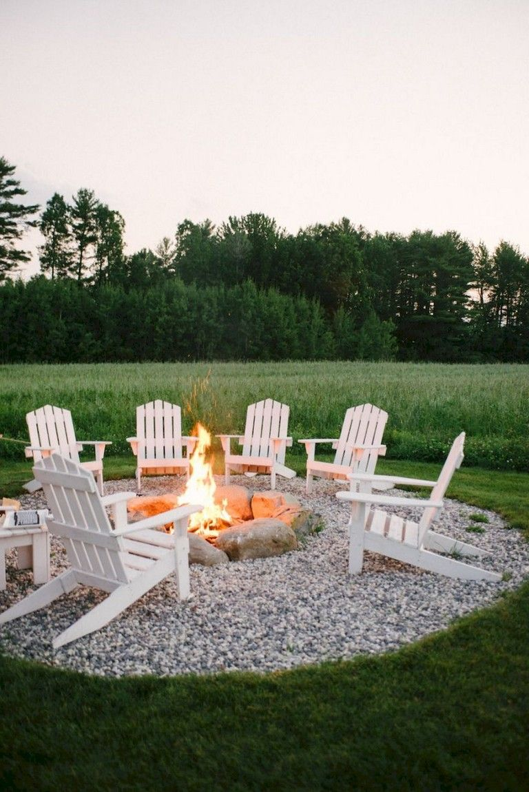 63 Simple Diy Fire Pit Ideas For Backyard Landscaping Backyardlandscaping Backyardplayhouse Backyarddesign Easy