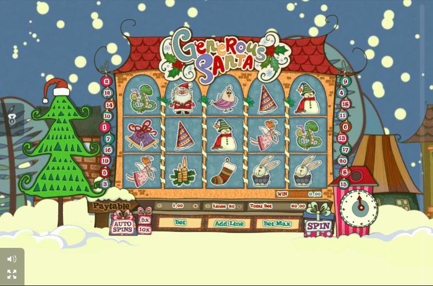 generous santa  http777casinospielespielautomat