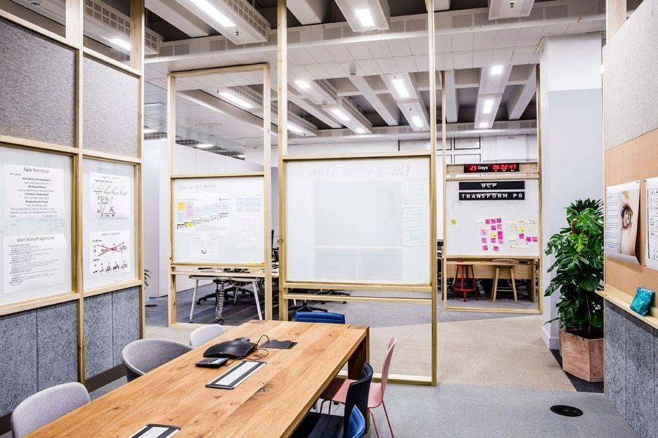 Barclaycard agile workplace by apalondon espacios de for Innenarchitektur zukunft