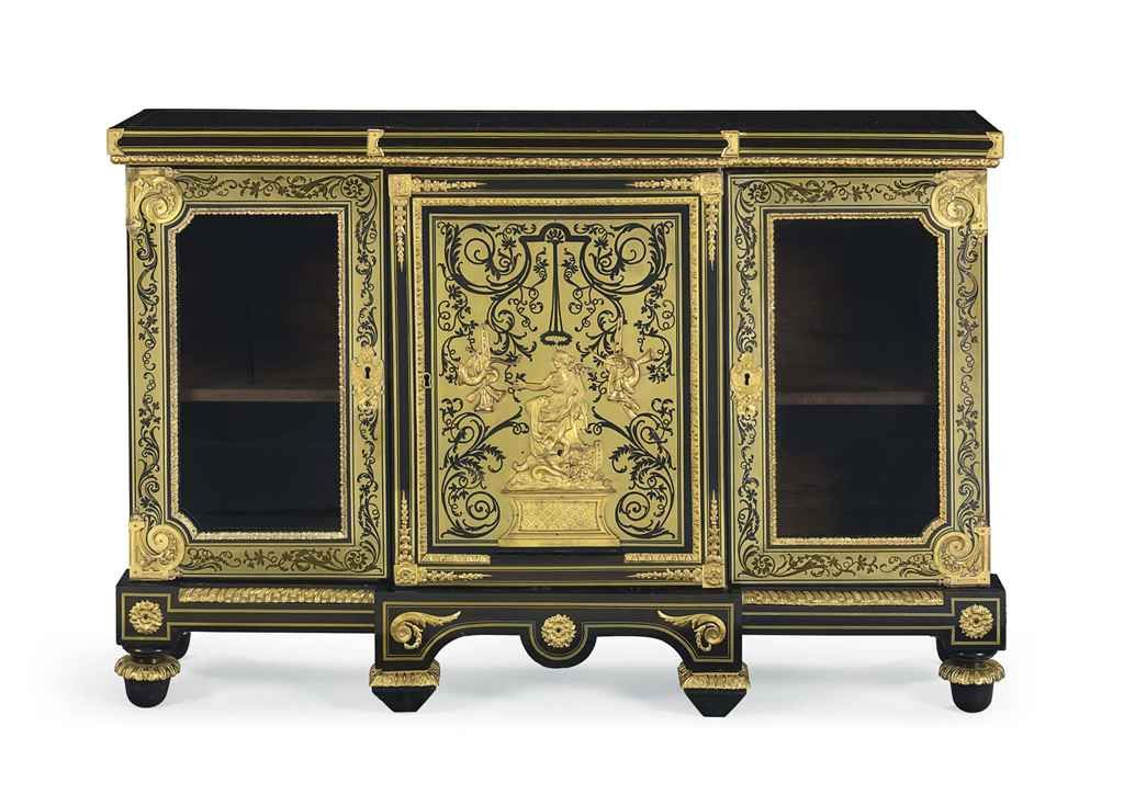 Louis Xiv Bibliotheque Basse By Andre Charles Boulle Circa 1700 Elite Furniture Louis Xiv Inlay Furniture