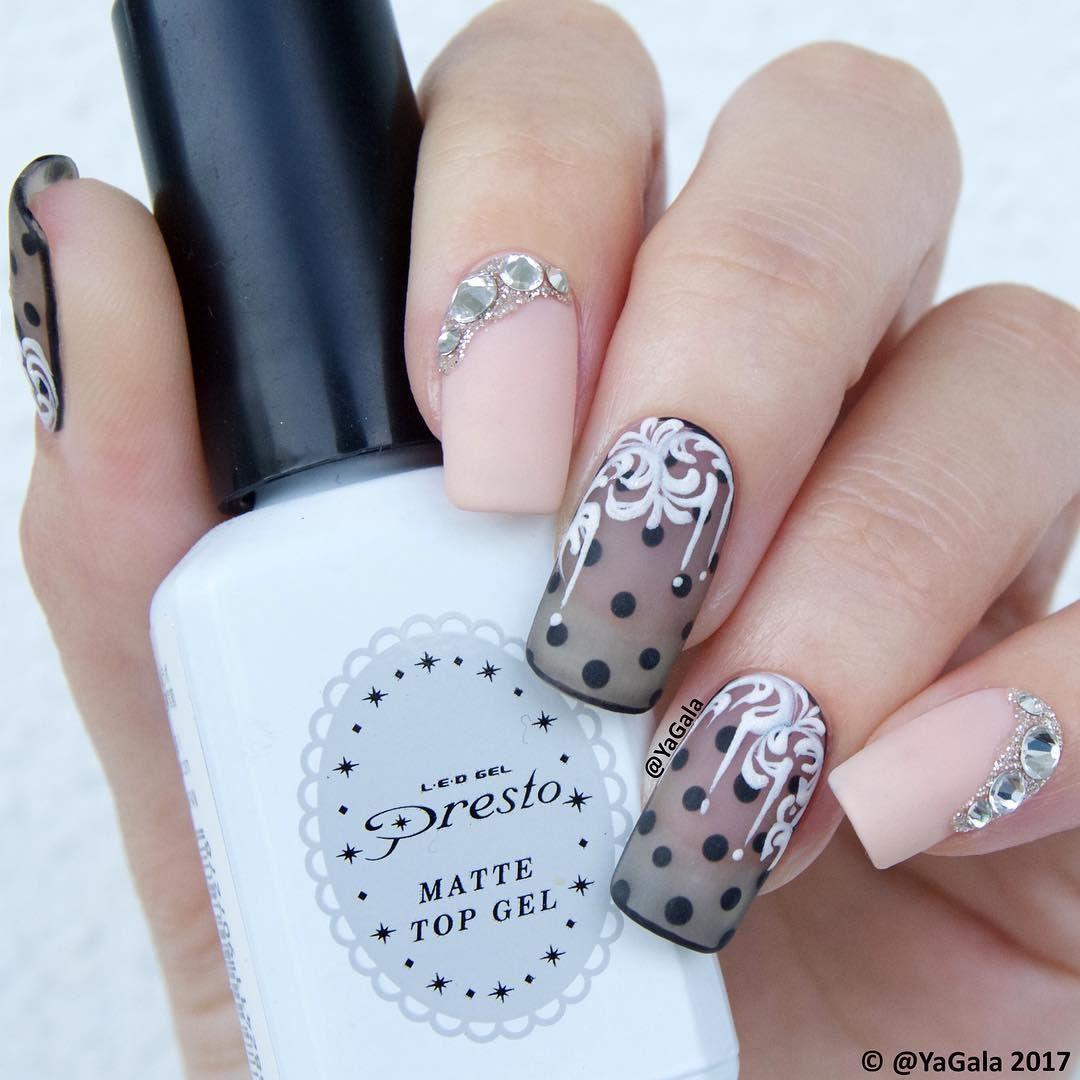 nail art design 2017 inspiration ideas DIY | matte top coat | gel ...