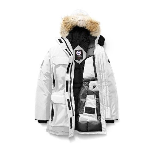 canada goose femme blanche