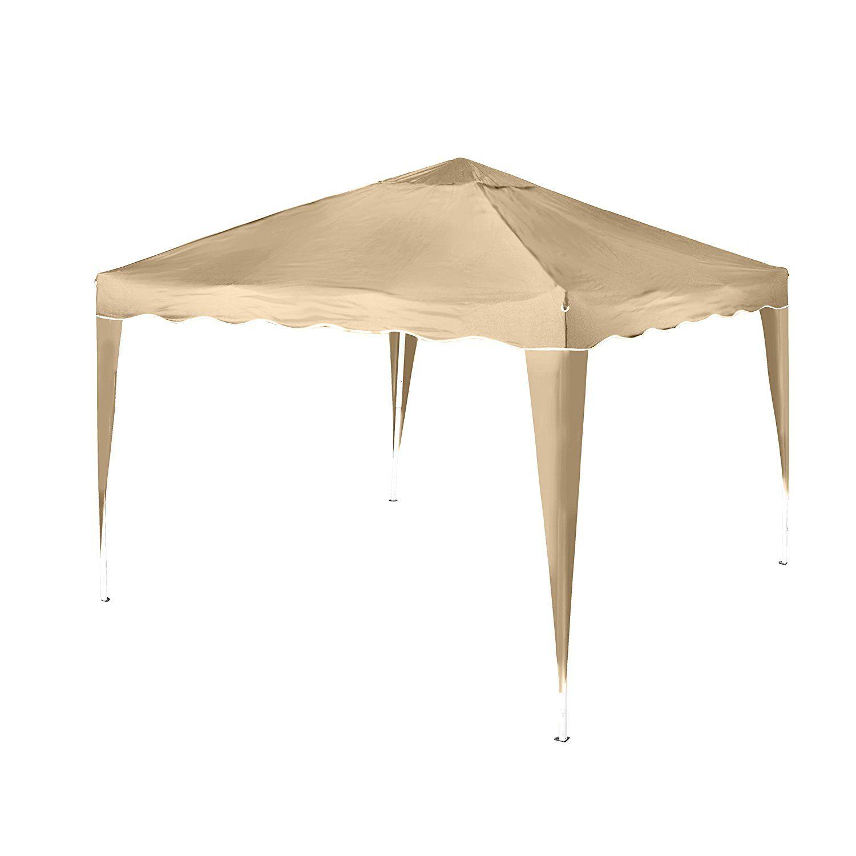 amazonsmile: vanage pavillon stella beige aus aluminium mit 4, Gartengerate ideen