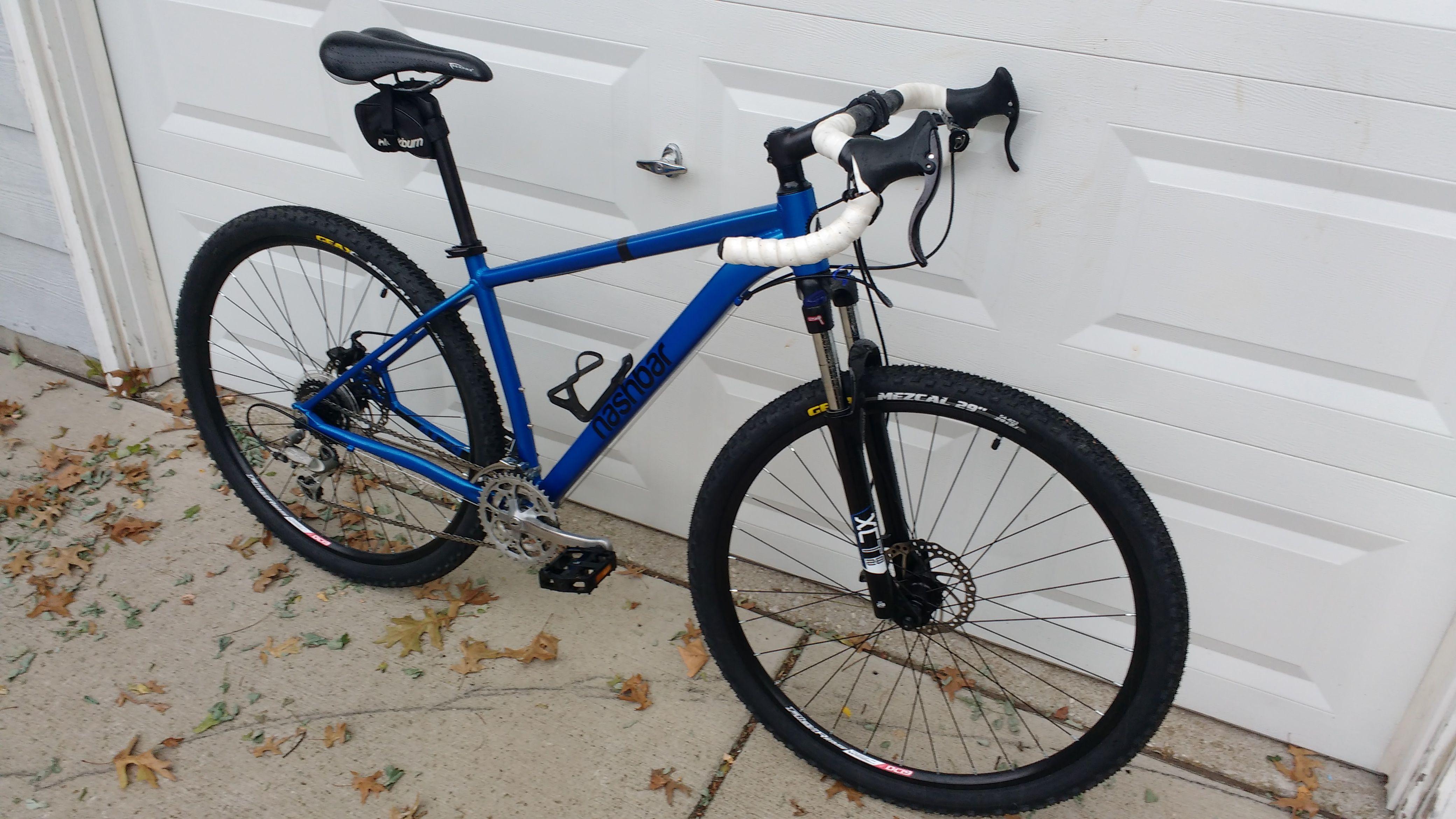My Nashbar At 29 With Drop Bar Conversion 29er Bike Bicycle