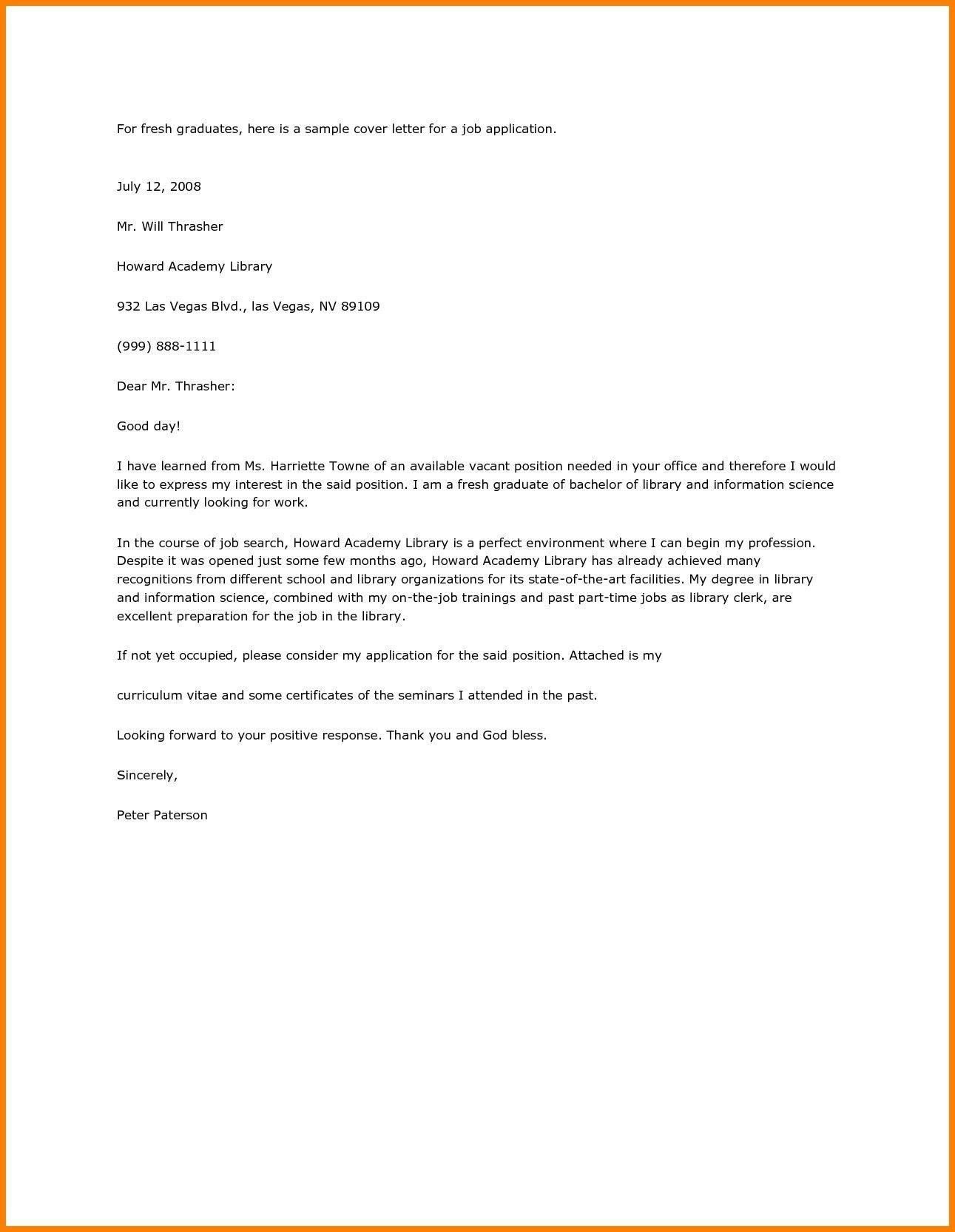 30+ Resume Cover Letter Sample in 2020 Cover letter for