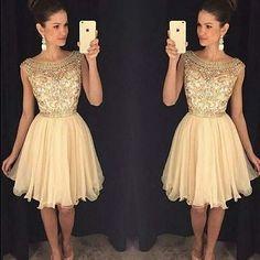 Vestido curto de festa de casamento