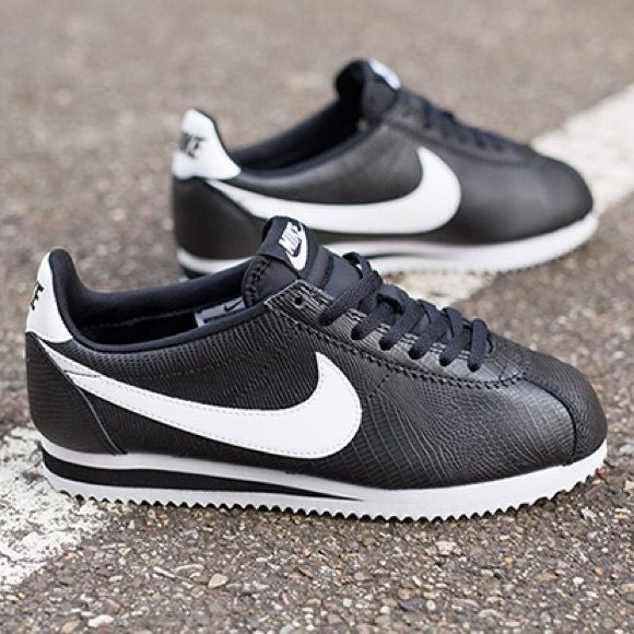 Nike Cortez Women s leather snakeskin Cortez. Brand new in box. NO trades.  NO offers. Price is FIRM! Nike Shoes Sneakers f3e9bc561