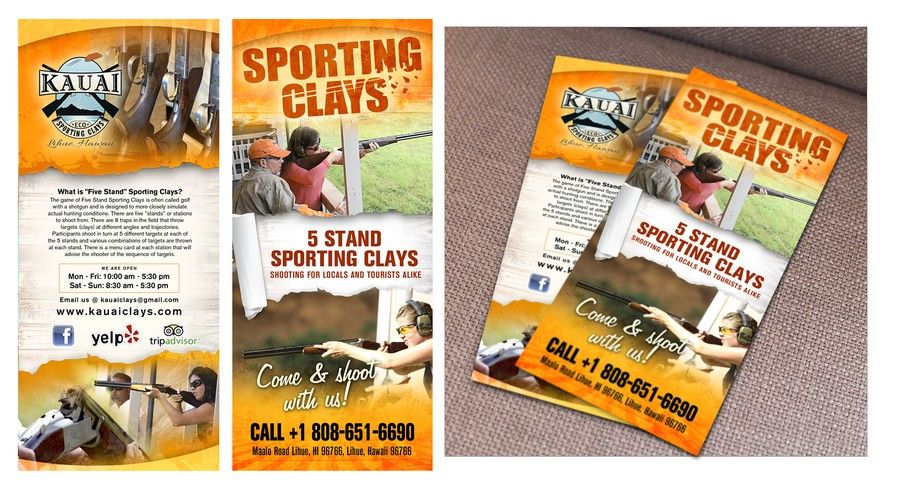 Freelance kauai eco sporting clays needs a new brochure design by business cards freelance kauai eco sporting clays needs a new brochure design by lireyblanco reheart Image collections