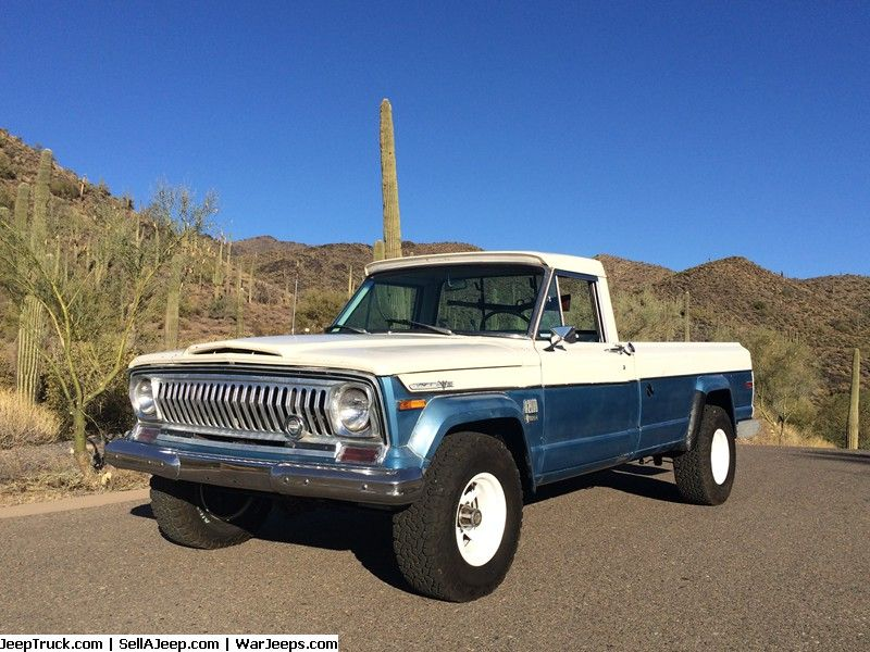 Jeep Trucks For Sale And Jeep Truck Parts 1972 Jeep J4000 Jeep