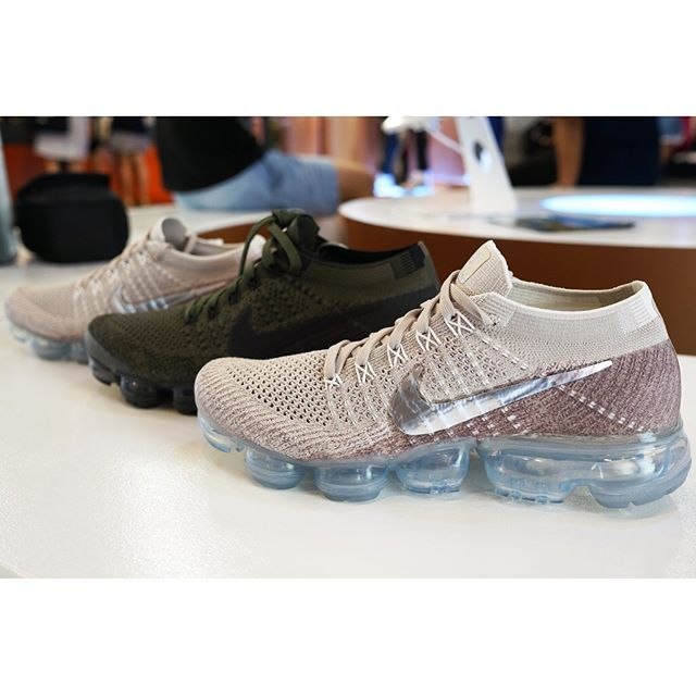 04796f416d Women Shoes$29 on Twitter. I need these Womens Nike Air Vapormax Flyknit  Running Shoe - String/Chrome-Sunset Glow-Taupe Grey