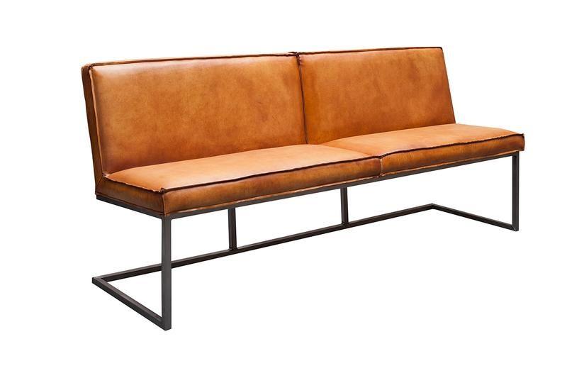 Vintage Sitzbank Mit Lehne