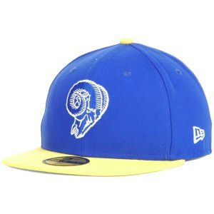 4a968a054db Mens New Era St Louis Rams On Field Classic 59FIFTY Football Structured Fitted  Hat 7 18     You can get more details by clicking on the image.