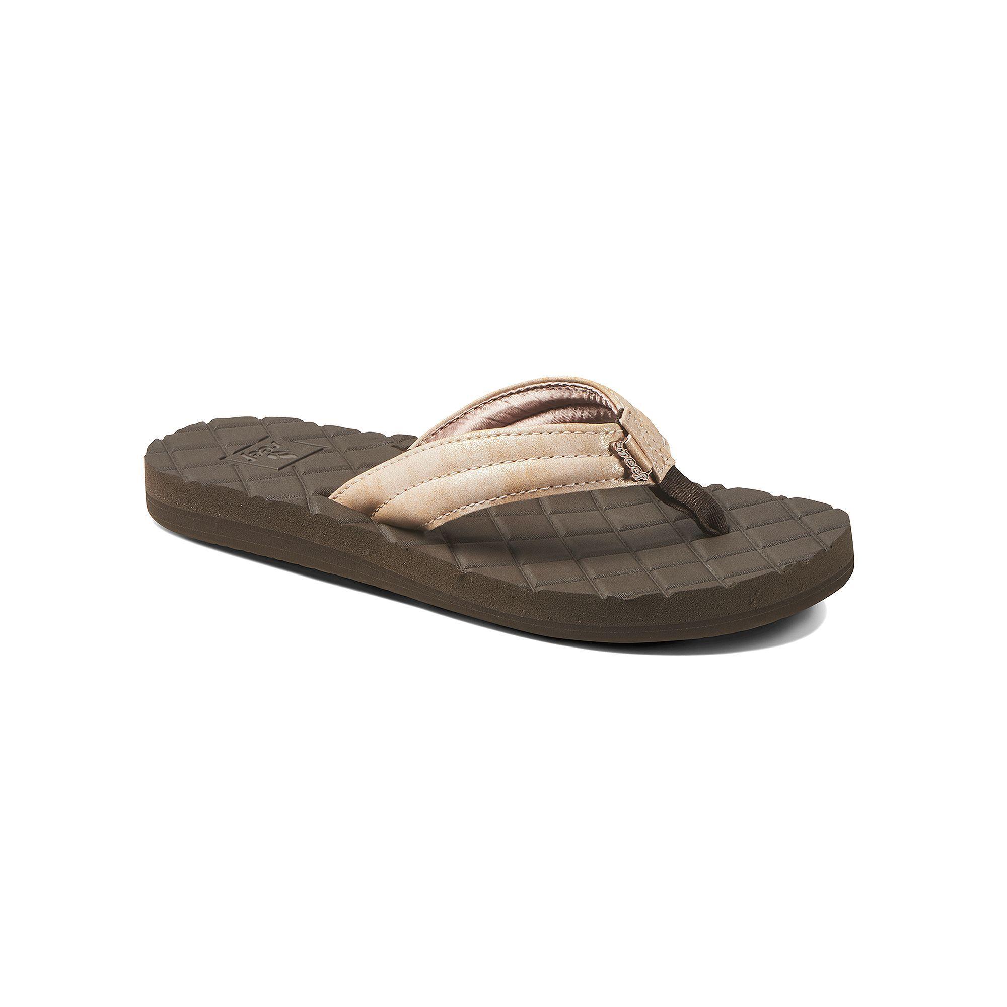 Womens sandals in size 11 - Reef Dreams Lux Ii Women S Sandals Size 11 Grey