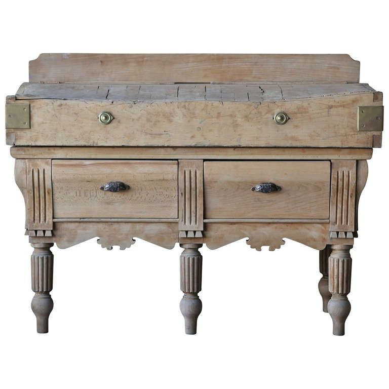 19th Century Antique French Butcher S