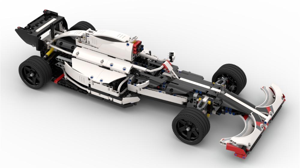 2019 Formula 1 (F1) car 42096 B Model Car, Porsche 911
