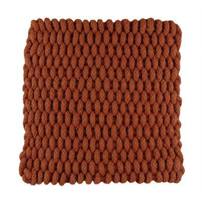 Janey Lynn's Designs Inc Trivets Handknitted Color: Copper Cents