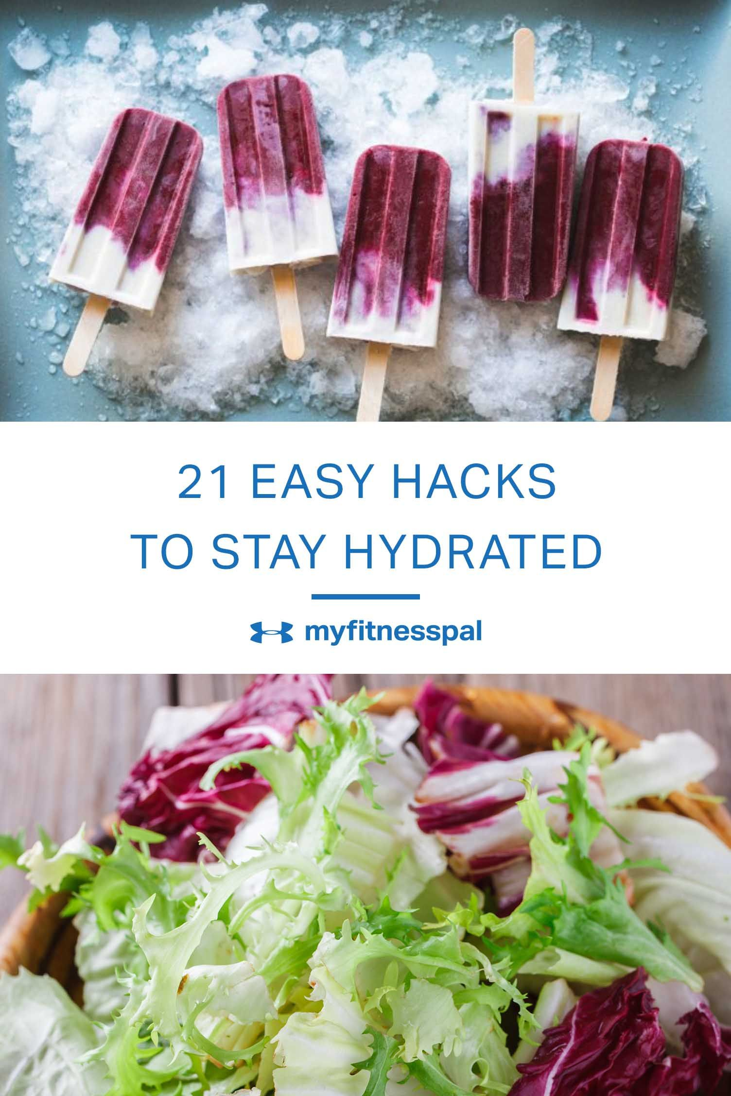 how to hydrate fast without water