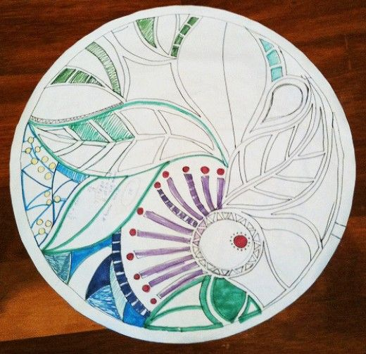 Image result for mosaic drawing ideas