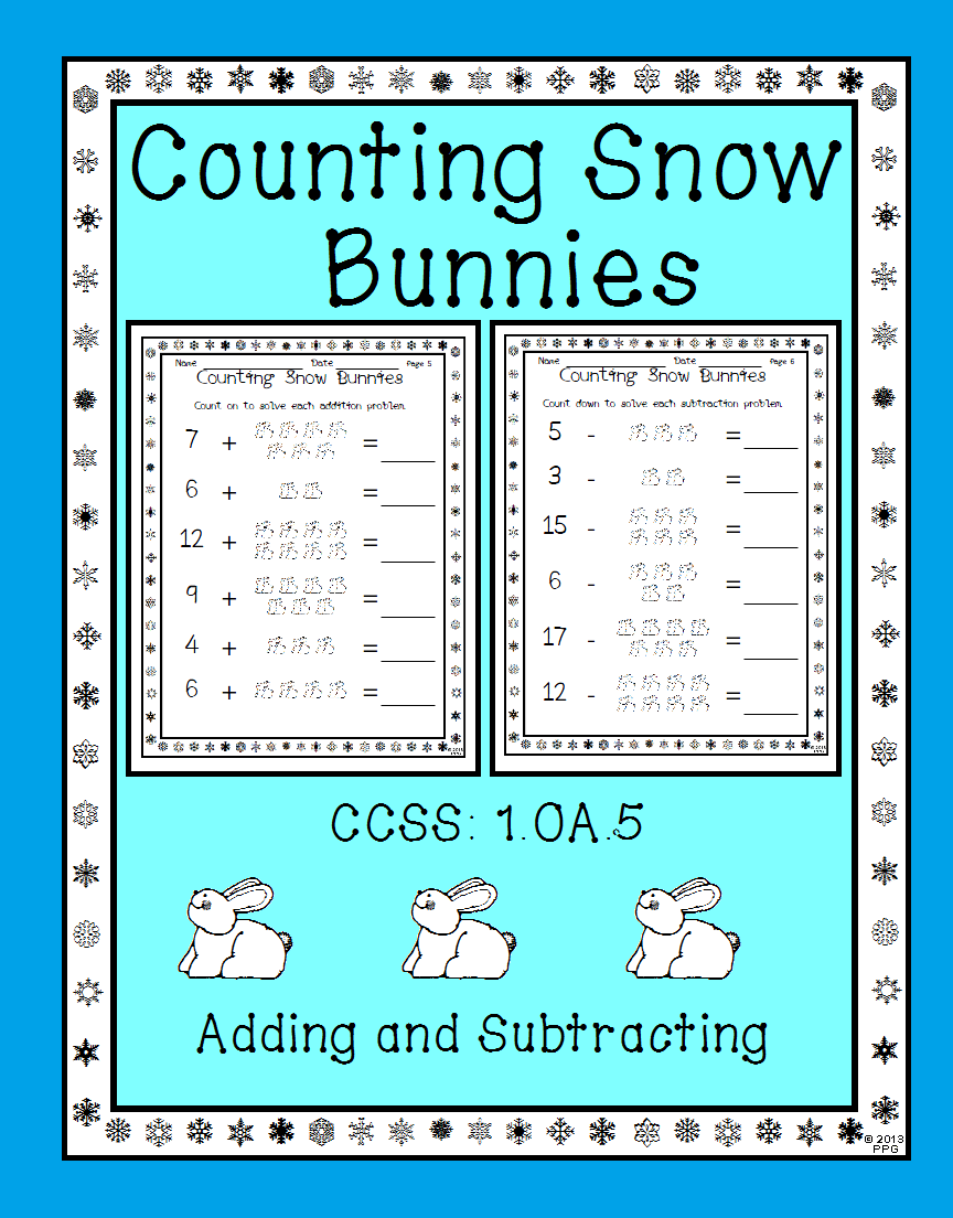 Adding and Subtracting with Pictures Worksheets 1.OA.5 | Worksheets ...