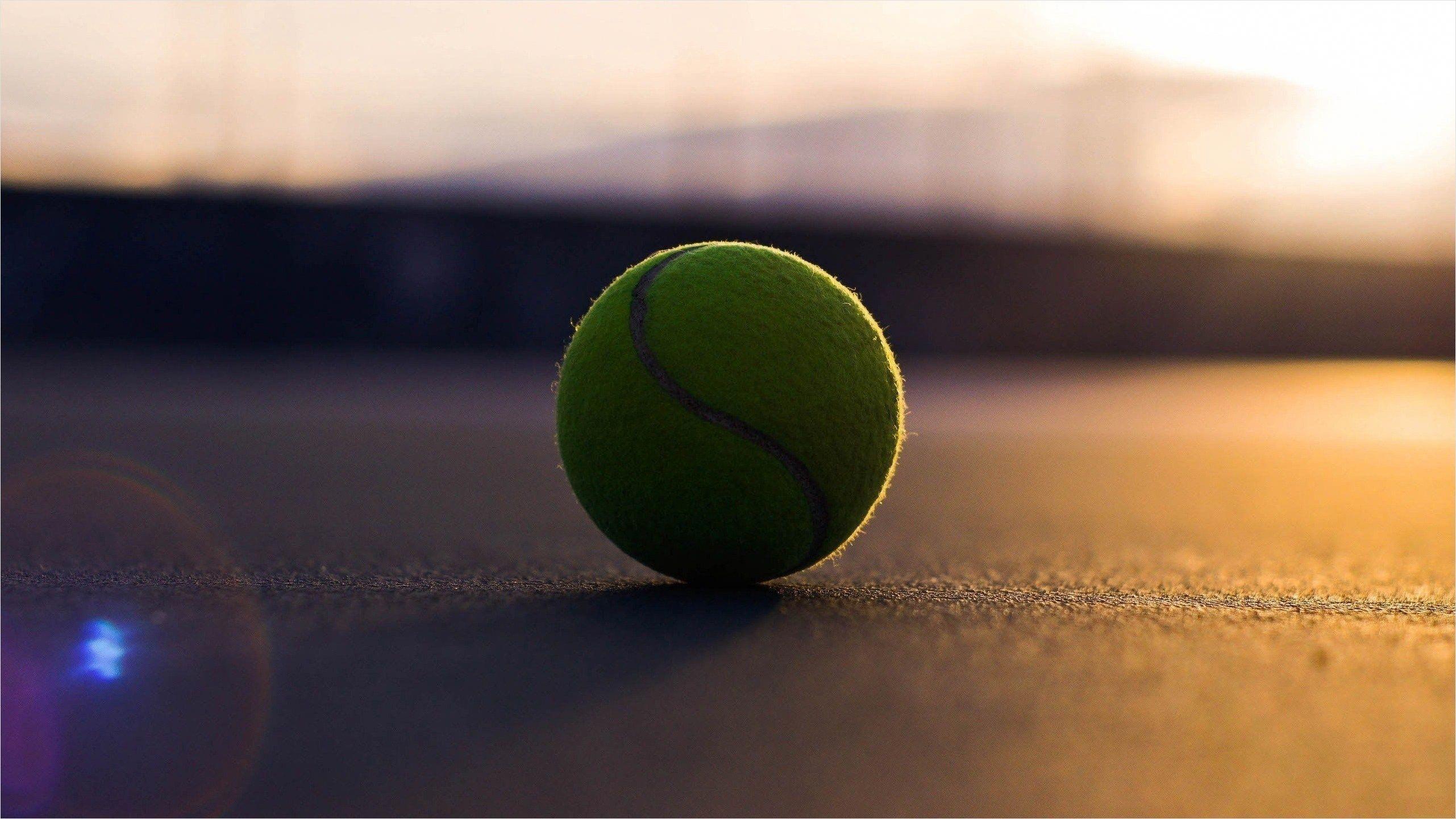 Perfect Tennis Ball Asphalt Shadow Hd Wallpaper Tennis Wallpaper Tennis Ball Tennis