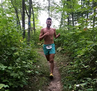 5K Trail Race and Trail Half Marathon on the North Country Scenic Trail in Solon Springs, WI. http://www.northcountrytrailrun.com/
