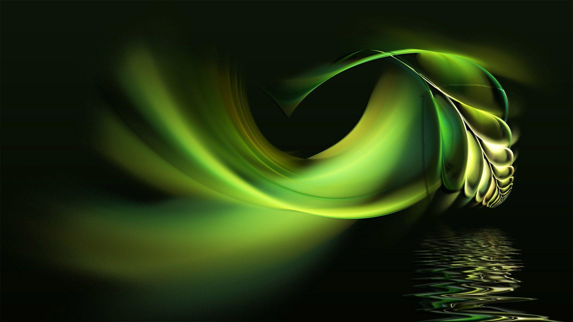 Unduh 800+ Wallpaper Abstrak Hd Green  Paling Baru