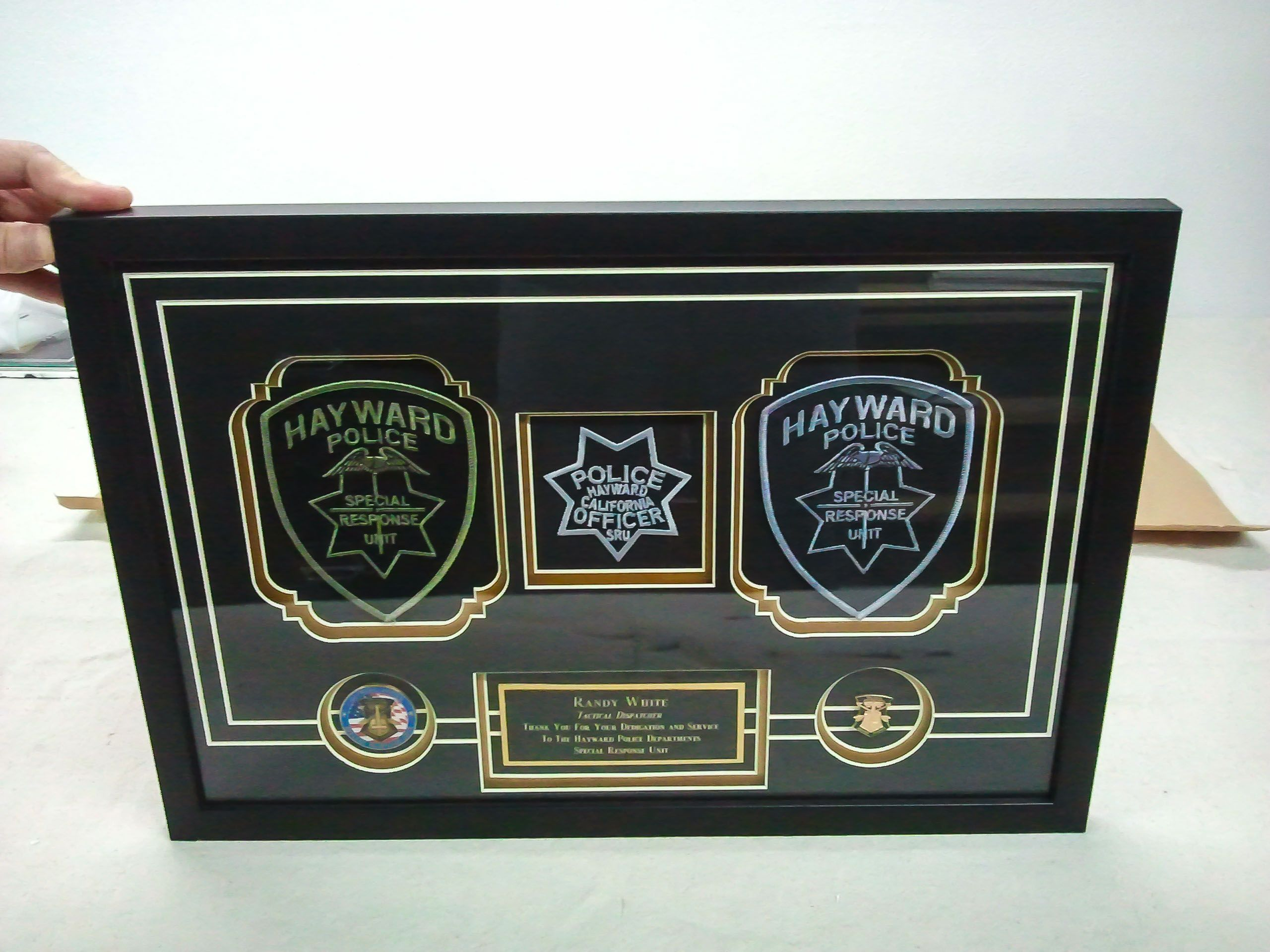 Pin by LnT Custom Picture Framing on law enforcement framing | Pinterest