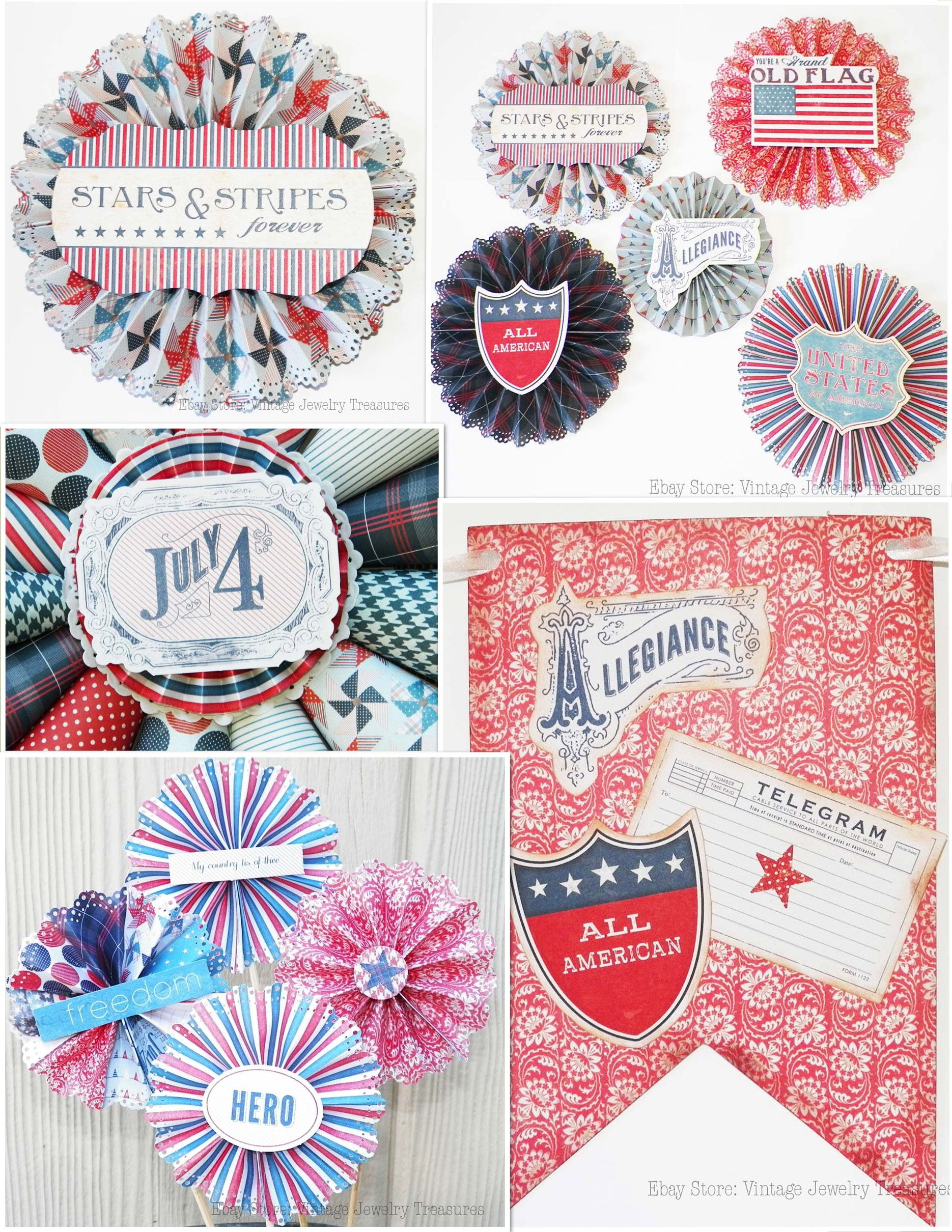 Fourth Of July Home & Party Decor In My Ebay