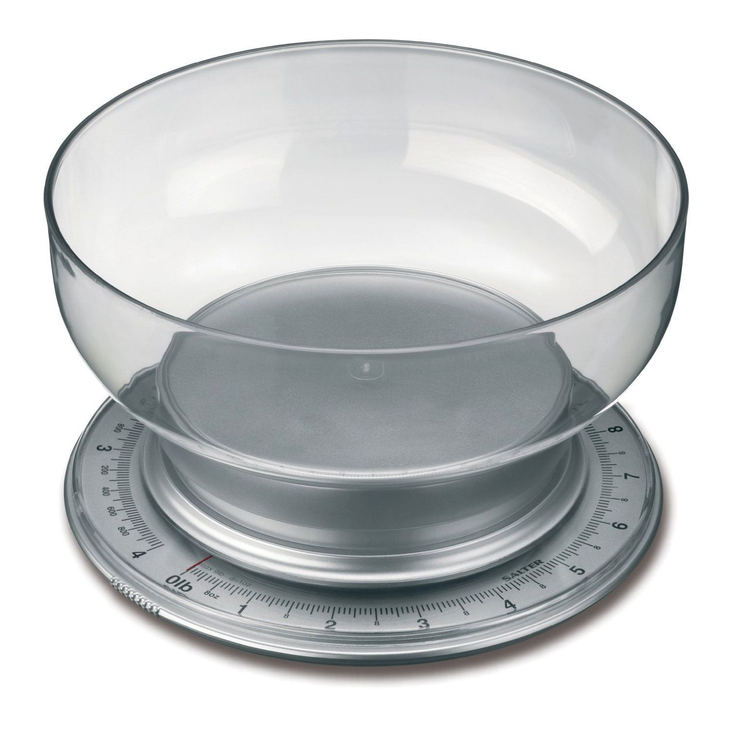 Salter Silver Mechanical Multiweigh Kitchen Scale