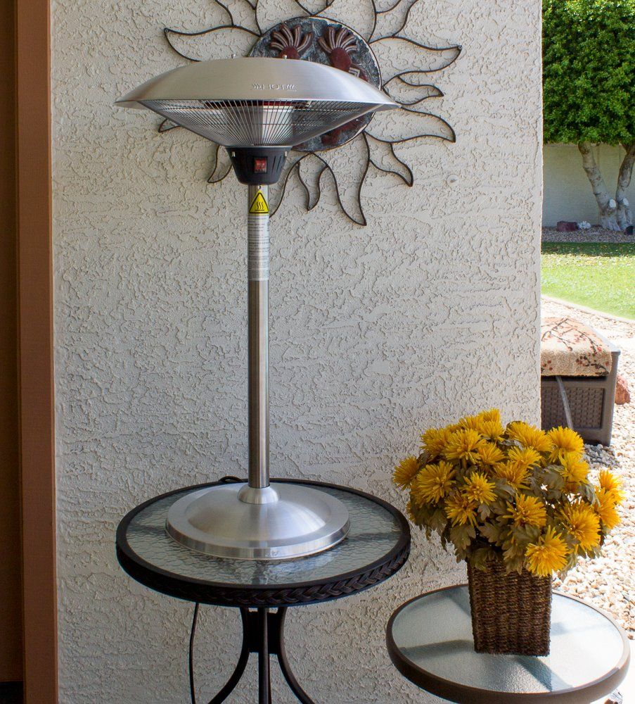 AZ Patio Heaters HIL1821 Tabletop Electric Patio Heater U003eu003eu003e For More  Information, Visit