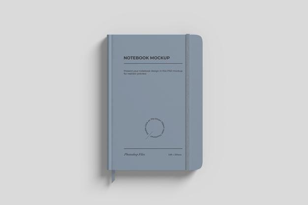 Download Download Notebook Mockup With Ribbon For Free Branding Mockups Mockup Hardcover Notebook