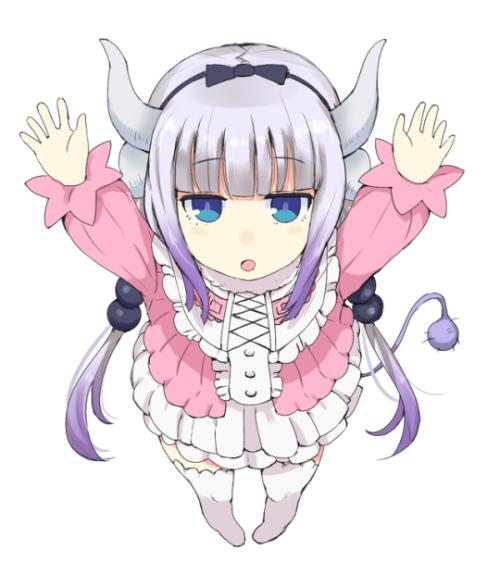 Kanna Kamui Miss Kobayashi S Dragon Maid Kobayashi San Chi No Maid Dragon Anime Chibi