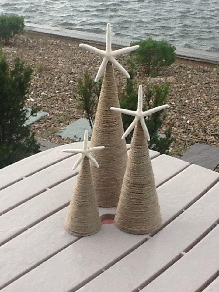 Weihnachtsdeko weihnachten Pinterest Coastal christmas - coastal christmas decorations