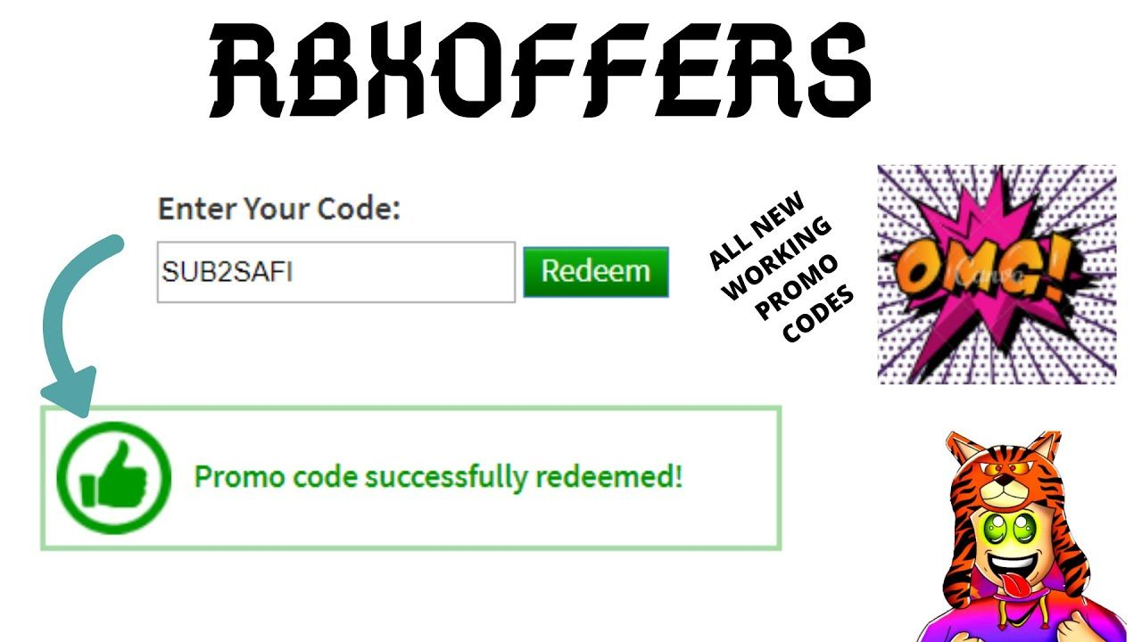 Rbx Offers Codes 2021 Roblox Roblox Generator Coding