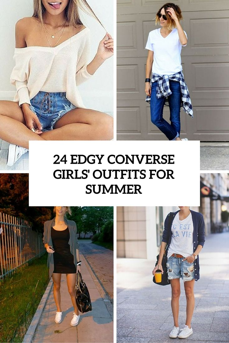 25 Edgy Converse Girls' Outfits For Summer