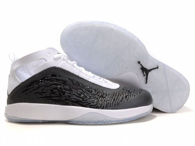 Jordan 2011 black white Men Basketball Shoes  Sale: