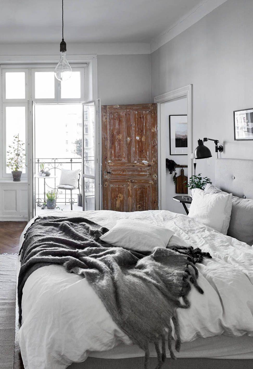 Une chambre simple | #design, #décoration, #chambre, #luxe. Plus de ...