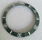 GREEN CERAMIC BEZEL INSERT FOR ROLEX SUBMARINER CUSTOM MADE FOR ROLEX 16610 #Rolex #Watch #rolexsubmariner