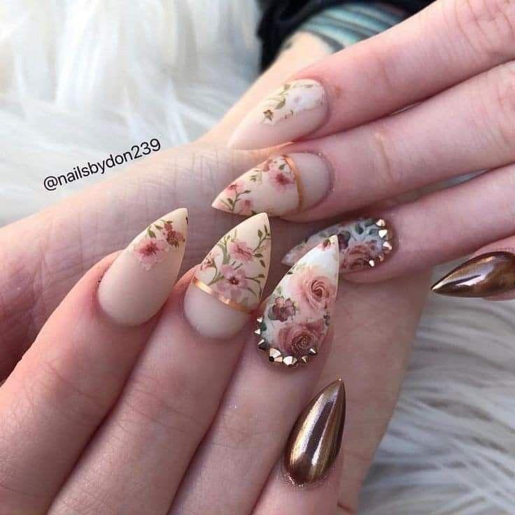 Pin de JolieFa en Beauty nails | Uñas foil, Uñas de gel ...