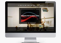 Diseño página web empresarial. Servicios integrales en internet. http://www.basicum.es/portfolio-item/diseno-web-graficas-olver/