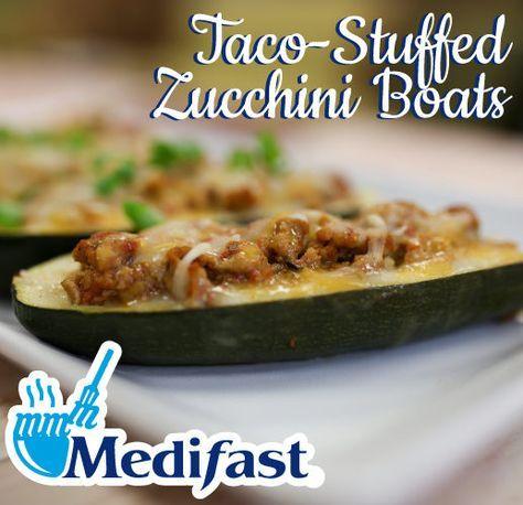 Taco stuffed zucchini boats recipe video optavia lean and green taco stuffed zucchini boats recipe video forumfinder Images