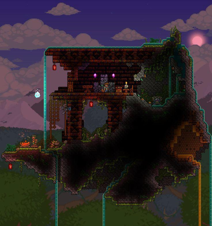 Resultado De Imagen Para Terraria Custom Floating Islands