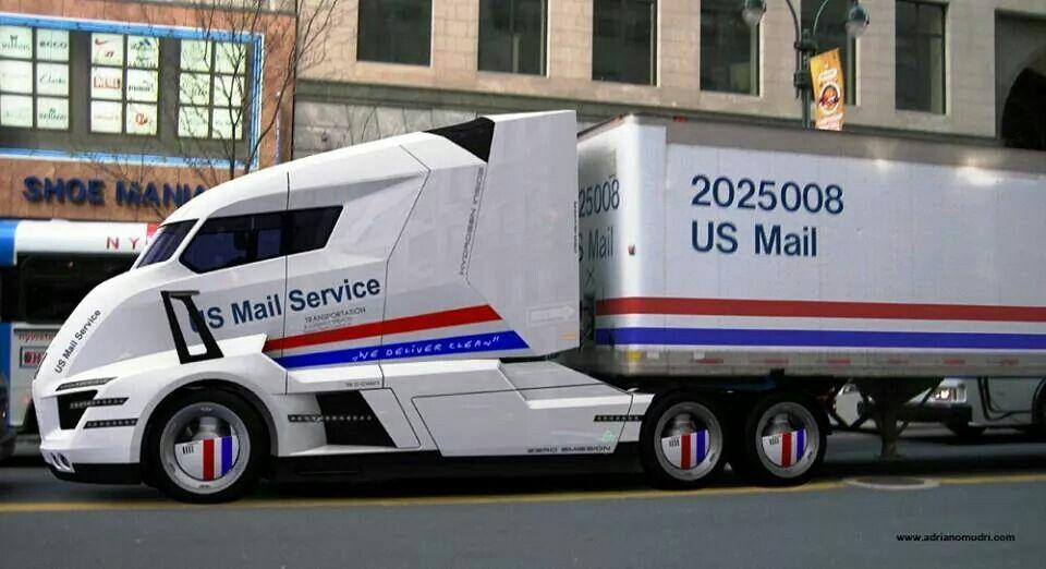 Usps Semi Truck