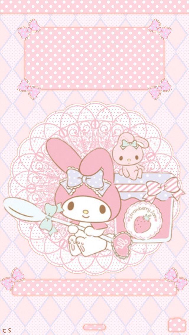 My Melody Wallpaper Sanrio Hello Kitty Kawaii Love