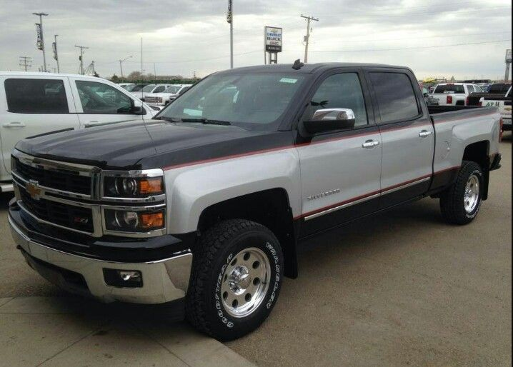 Cars For Sale Tyler Tx >> New Chevy painted like an old Chevy   New chevy truck, Chevy trucks, Chevrolet silverado
