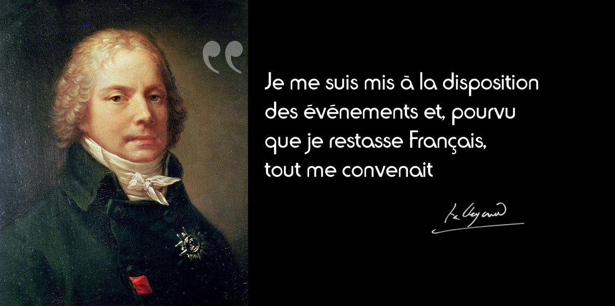 17 Mai 1838 Mort De Talleyrand Citation Citations Historiques