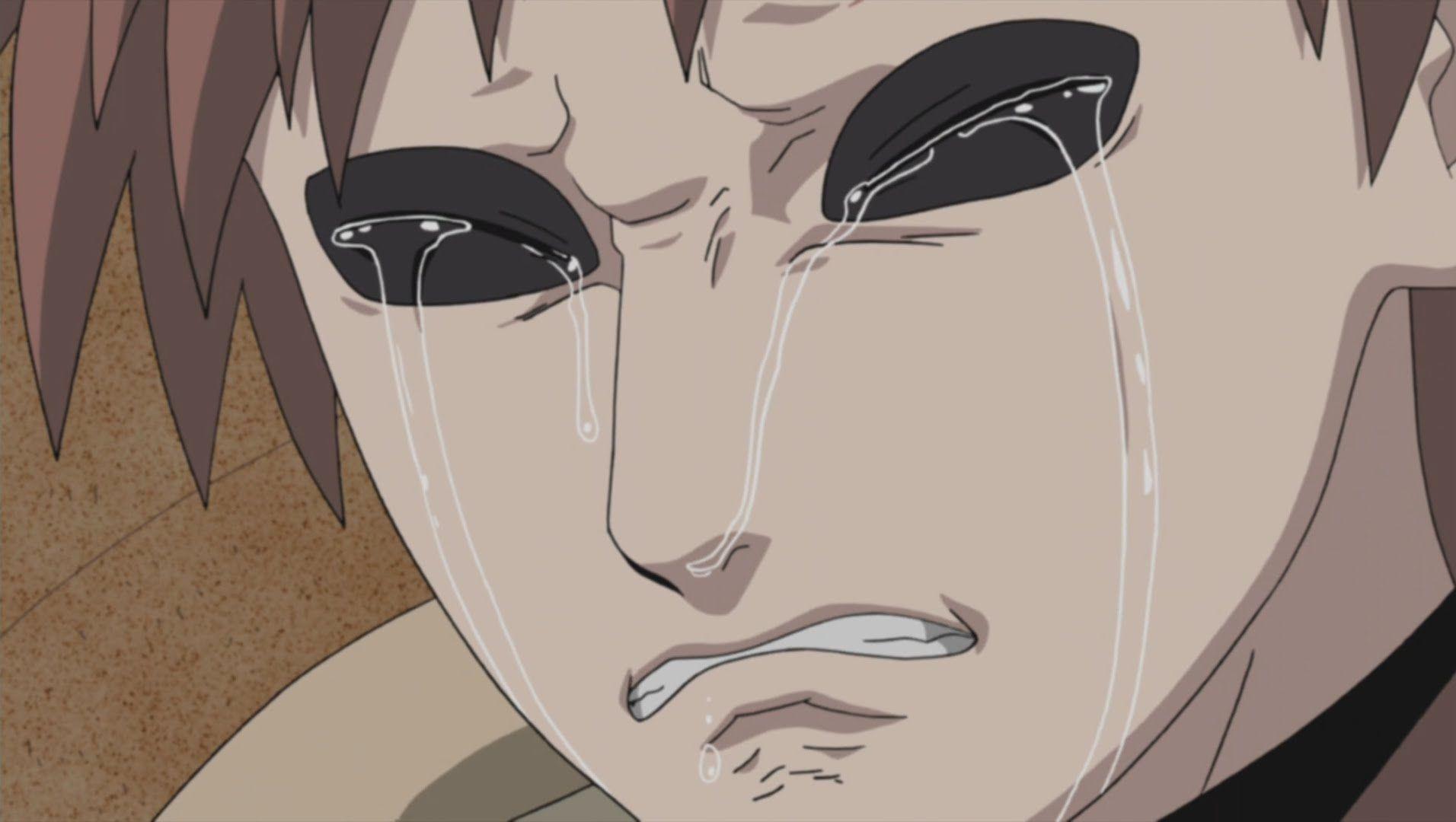 Gaara Cries Naruto Shippuden 4th Great Ninja War English Dub